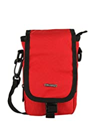 Lino Perros Polyester Red Messenger Bag (LMTA00005 RED)