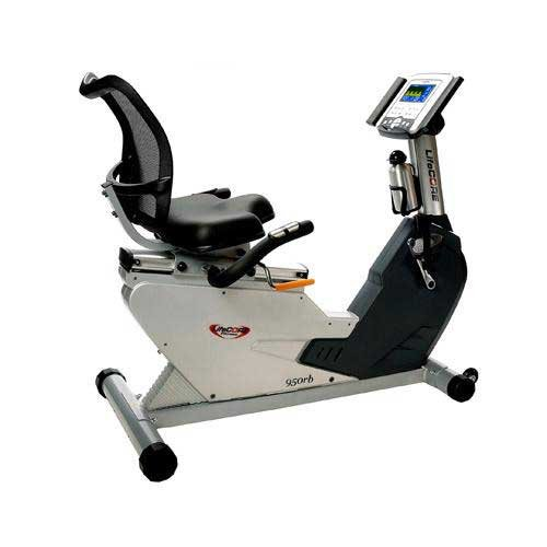 Lifecore LC950RB Ultra-Compact Recumbent Exercise Bike