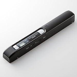 サンワダイレクト ハンディスキャナ A4 iPad 自炊 対応 スキャナー ダブルローラー採用 ポータブルスキャナー ハンディースキャナ 400-SCN010
