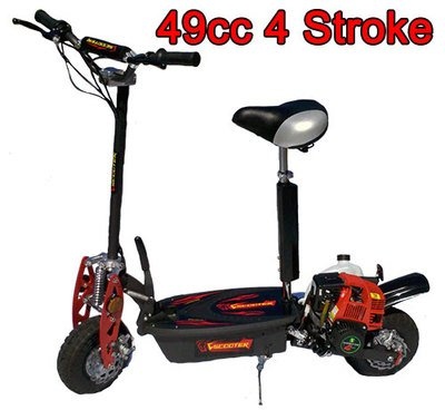 Brand NEW 2014 Elite 4-stroke 49cc Gas Motor Scooter- On/offroad