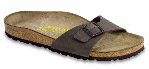 Birkenstock Madird Sandals Birko-Flor - Eur 39 - Regular - Mocca - Birko-Flor Nubuck front-974564