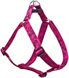 "Lupine 1"" Plum Blossom 24-38 Step In Dog Harness"
