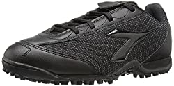 Diadora Mens Referee TF 2 Soccer Shoe, Black, 11 M US