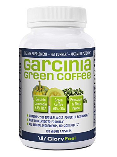 The BEST combination of Garcinia Cambogia Extract And Green Coffee Extract available, 120 Caps proven successful appetite suppressant and weight loss supplement (Wow Green Coffee compare prices)