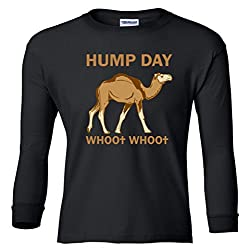 HUMP DAY whoo whoo Youth Long Sleeve T-Shirt