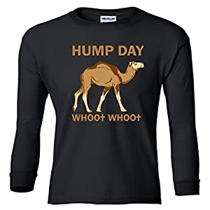 HUMP DAY whoo whoo Youth Long Sleeve T-Shirt