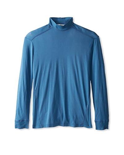 Robert Geller Men's Rib Combo Shirt