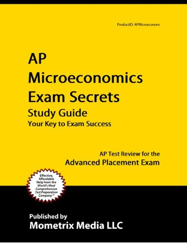 microeconomics exam review Are you worried about your upcoming clep microeconomics test don't be our free clep microeconomics practice questions can help you pass no registration.