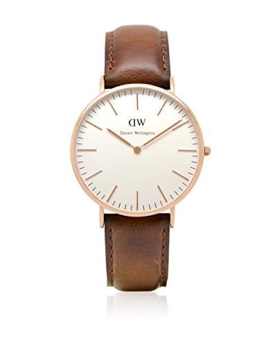 Daniel Wellington Reloj con movimiento cuarzo japonés Man Classic St Mawes blanco/gris 40 mm