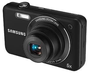 Samsung ES73 Digitalkamera (12 Megapixel, 5-fach opt. Zoom, 6,86 cm TFT LCD, Bildstabilisierung, 27 mm Weitwinkel, staubgeschützt) schwarz