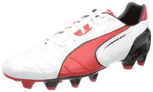 Puma Spirit FG 102671, Scarpe da calcio uomo, Bianco (Weiß (metallic white-high risk 05)), 44