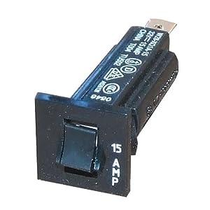 Yamaha Circuit Breaker (48 Volt/36 Volt/15 Amp) MAC/DPI Golf Cart Charger