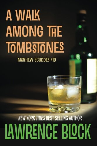 Book cover to 'A Walk Among the Tombstones'