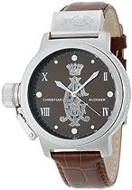 Christian Audigier Unisex ETE-118 Eternity Meridiem Skin, Stainless Steel Watch