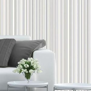 Coloroll Martez Wallpaper - Cream Grey from New A-Brend