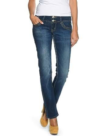 LTB Jeans - Jean - Straight Fit - Femme -  Bleu - Bleu - 27 (FR 36-38)