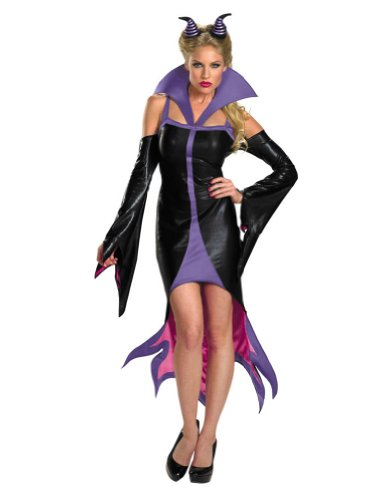 Maleficent Sassy Adult Costume 12-14 Halloween Costume