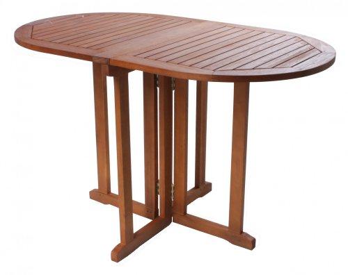 Balkontisch-Klapptisch-ovaler-Tisch-Gartentisch-Holztisch-BALTIMORE-Eukalyptusholz-FSC