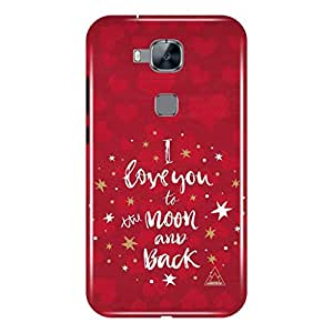 a AND b Designer Printed Mobile Back Case / Back Cover For Huawei G8 (HUW_G8_3D_3327)