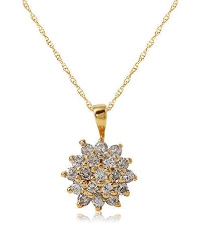 Fashion Strada Ladies 0.57 Cttw Diamond 14K Necklace