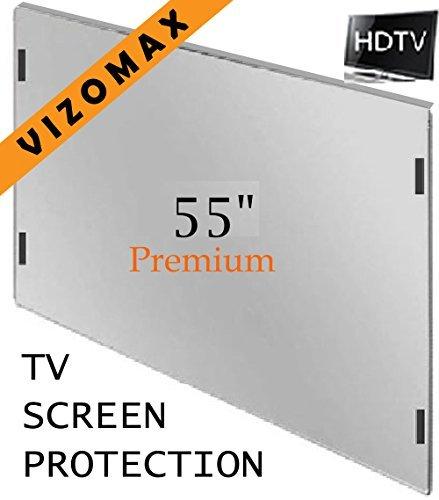 55 inch Vizomax TV Screen Protector for LCD, LED or Plasma HDTV