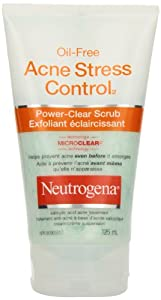 Neutrogena Oil-Free Acne Stress Control Power-Clear Scrub, 125ml