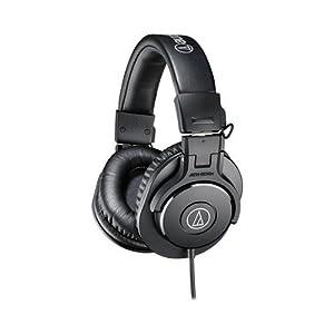 Audio-Technica ATH-M30x Professional Studio Monitor Headphones Deluxe Bundle