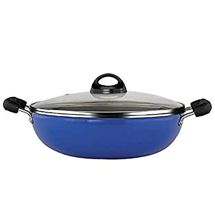 Premier-059028-Non-Stick-Induction-Bottom-Kadai-with-SS-Lid-(24-cm)