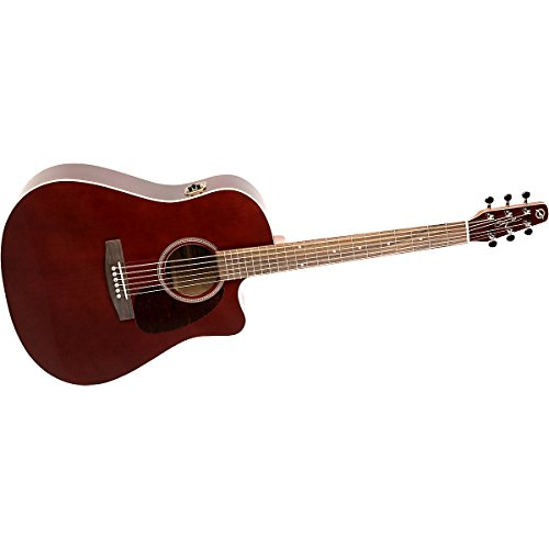 Seagull Entourage Cw Gt Qi Acoustic Electric Guitar, Burgundy