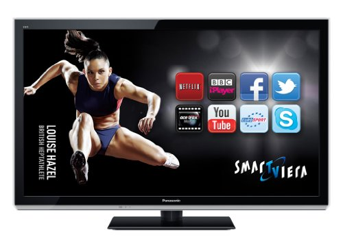 Panasonic TX-P42UT50B 42-inch Widescreen Full HD 1080p 3D Plasma with Freeview HD and Smart VIERA - Black (New for 2012)
