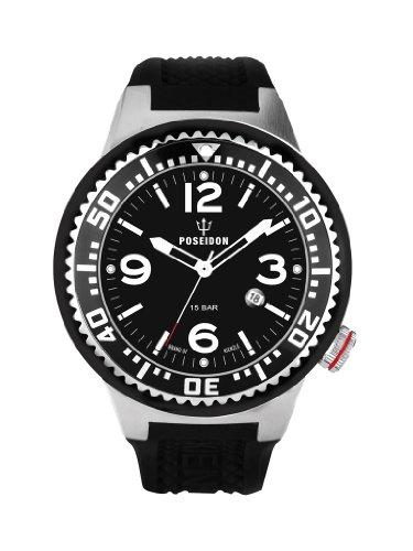 Kienzle K2031153153-00262 - Orologio da polso uomo, silicone, colore: nero