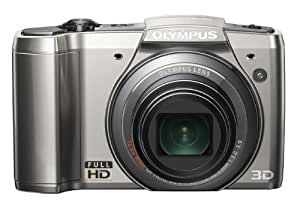 "Olympus SZ-20 16 Mp Digital Camera, 12.5x Wide Optical Zoom (24mm Wide) with 3"" 460k LCD (Silver)"