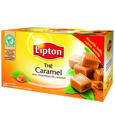 Lipton Caramel Tea - Thé Caramel Lipton