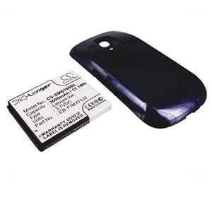 Bluetrade BT-BAT-SM8190BL Batterie avec Couvercle pour Samsung Galaxy S3 Mini I8190 3000 mAh