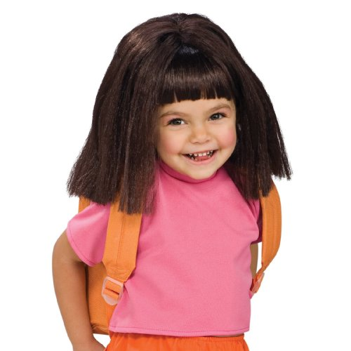 Child's Wig Dora the Explorer - 1