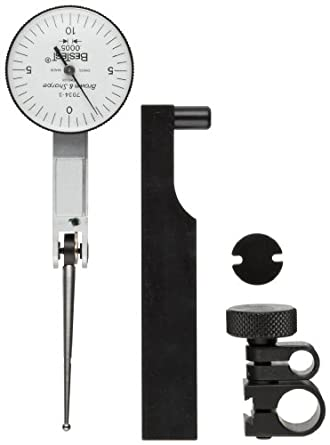 Brown & Sharpe Bestest -3 Series Dial Test Indicator Set, Extra Long Contact Point, Inch, M1.4x0.3 Thread