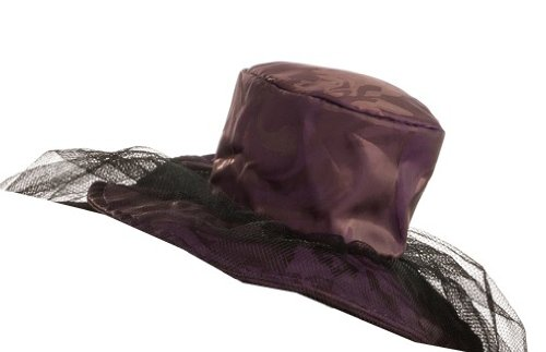 Rubie's Costume Womens Mini Purple Saloon Girl Hat, Purple, One Size