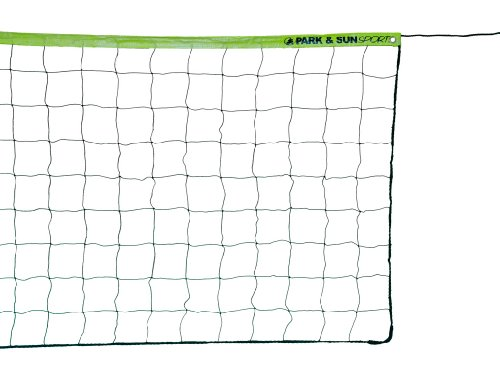 "Park & Sun Rope Cable Volleyball Net, 1-1/2"" Top Tape"