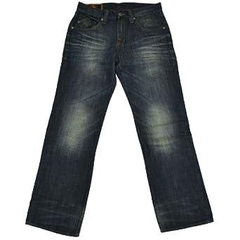 Rock & Republic Mens Regular Fit Straight Leg Jeans (Riptide, 29 x 32)