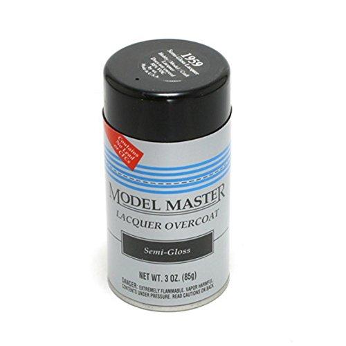 Model Master Spray Lacquuer Overcoat Semi-Gloss 3oz. #1959 (Model Master Lacquer compare prices)