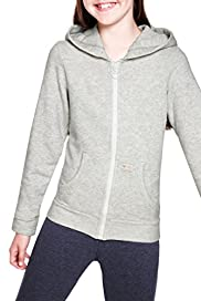 Cotton Rich Zip Through Hooded Sweat Top [T74-1810U-S]