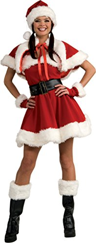 Secret Wishes Women's Sexy Miss Santa Costume
