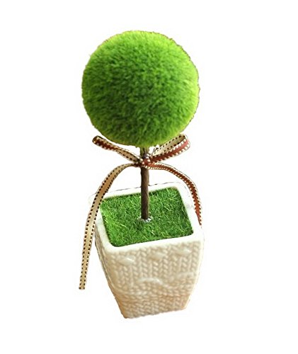 Home Furnishing Decoration Small Bonsai Plants Small Ornaments - Circular