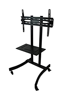 Cheap  MountRight  All Steel Trolley TV Display Stand With Bracket and Castors
