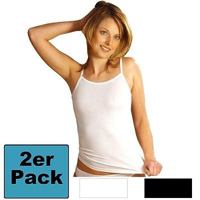 HERMKO 7560 2er Pack Damen Trägerhemd aus der Buchenholzfaser Modal, sehr weiches und geschmeidiges Unterhemd mit schönem Glanz, Shirt für Ladies, Top direkt vom Hersteller, schadstoffgeprüfte Qualität from HERMKO