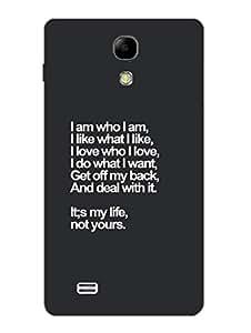 Samsung S4 Mini Back Cover - My Life - Attitude Typography - Designer Printed Hard Shell Case