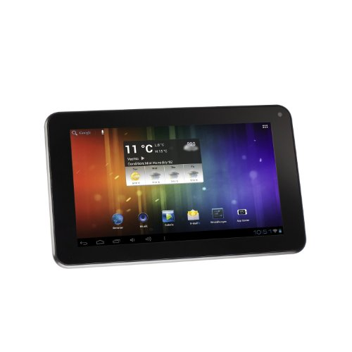 Intenso Tab 714 17,8 cm (7 Zoll) Tablet-PC (Cortex A8, 1GHz, 512MB RAM, 4GB HDD, WiFi, WLAN, Android 4.0) schwarz