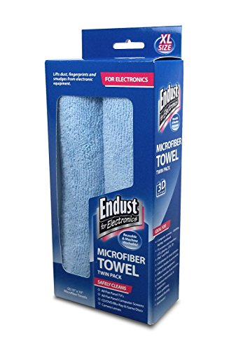 Best Price! Endust Dry Microfiber Wipes, 2-Pack (END11421)