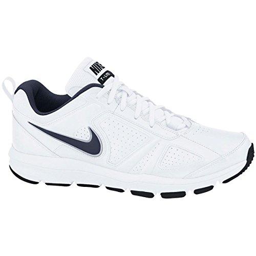 Nike - Sneaker T-Lite XI, bianco (Weiß (White/Obsidian-Black-Metallic Silver)), 43