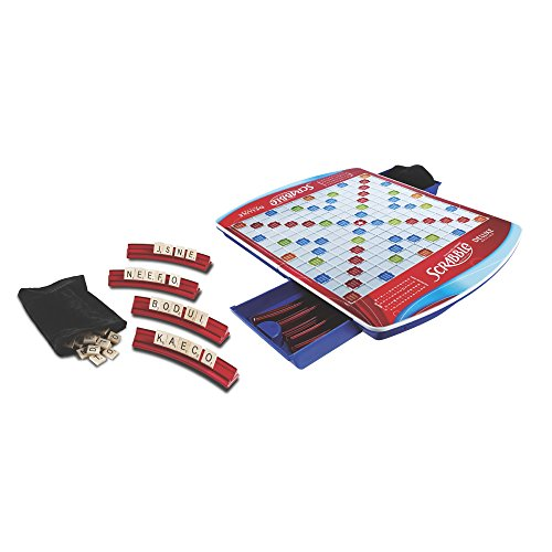 Scrabble Deluxe Edition Game (Amazon Exclusive) (Amazon Frustration Free compare prices)